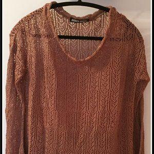 Long Sleeves Crochet Sweater by Aridza Bross